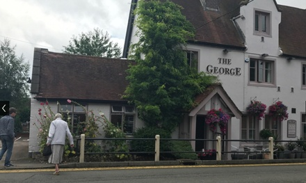 Two-Course Meal with Wine for Two or Four at The George (Up to 55% Off)