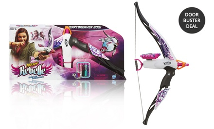 Nerf Rebelle Heartbreaker Bow. Free Returns.
