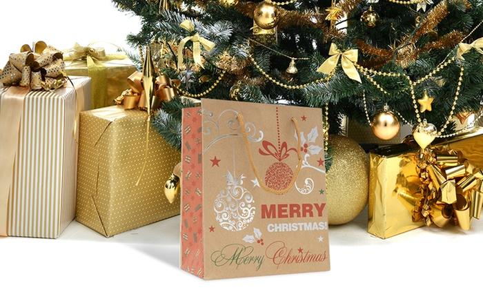christmas 3d gift bag