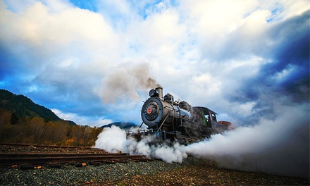 Regular Steam-Engine Excursion for Two from Mt. Rainier Scenic Railroad and Museum (Up to 50% Off)