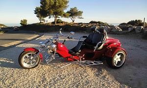Balade en trike avec chauffeur pour 2 Marseille
