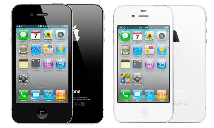 Apple iPhone 4S 8 Go reconditionn noir ou blanc à 109€ livraison gratuite
