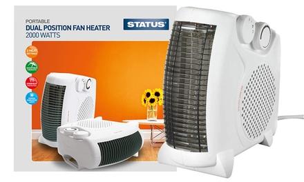 Dual Position Fan Heater