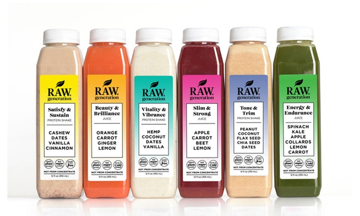 Raw Generation: Three-, Five-, or Seven-Day Protein Cleanse from Raw Generation (65% Off)