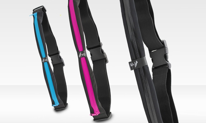 Sport Belt with Pouch: Sport Belt with Pouch. Multiple Colors Available.