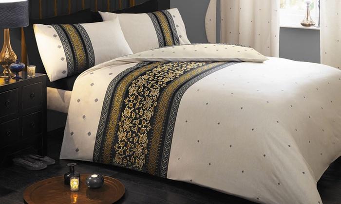 Parure de lit Persia en coton et polyester