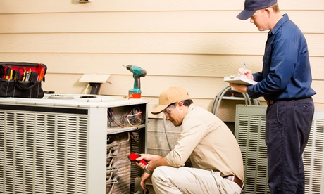 Air Conditioner, Heat Pump Tune-Up or Furnace with Optional Dryer Vent Clean from Aire Serv (Up to 74% Off) a9f82fb4-1f7e-429b-a22d-01e4691570f8