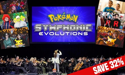 Pokémon: Symphonic Evolutions, 19–20 December at Eventim Apollo (Up to 32% Off)
