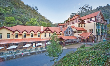 Jenolan Caves, NSW: One-Night Escape for Two People with Cave Tour and Option on Breakfast at Jenolan Caves House