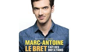 DH Management: 2 places Marc-Antoine Le Bret, mercredi 21 mars 2018 à 20h à 44 € au K Tinqueux
