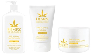 Milk & Honey Hempz Lotion, Body Wash, or Body Whip
