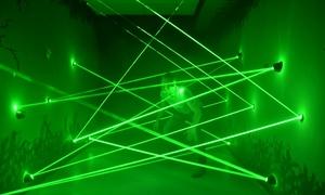 Alfa Laser Game: Laserowy labirynt: 6 prób przejścia dla 2 osób za 51,99 zł i więcej opcji w Alfa Laser Game (do -41%)