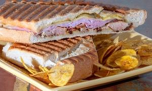 Caribbean Grill Cuban Restaurant: $10 for $20 Worth of Food for Two at Caribbean Grill Cuban Restaurant
