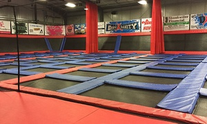 Defy Gravity Lincoln: Jump Sessions and Attractions at Defy Gravity (Up to 48% Off)