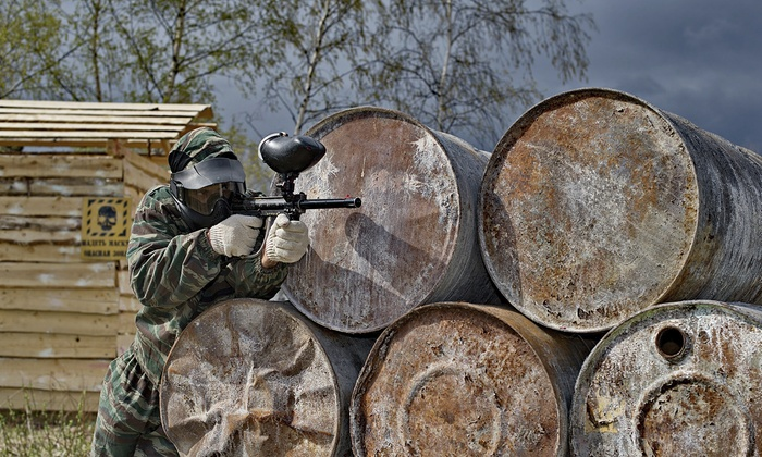 Paintball Hotline - Jungle Games: Paintball Package for Up to 10 at Jungle Games Paintball from Paintball Hotline (Up to 92% Off)