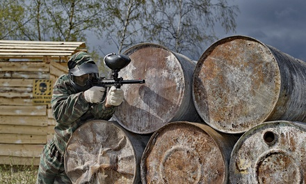 Paintball for 5 or 10 at Splatter Park from Paintball Hotline (Up to 92% Off)