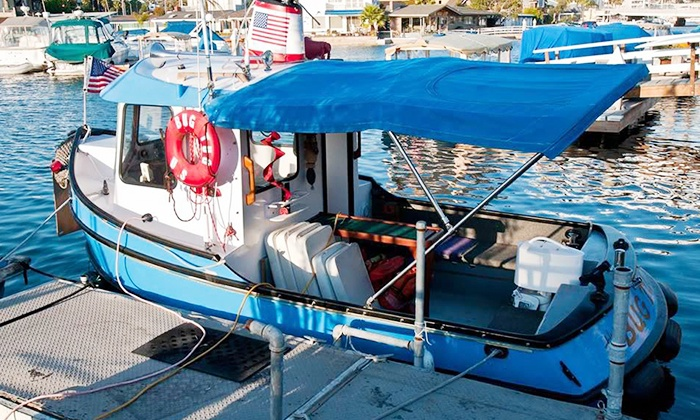 Ship 'N a Bottle - Ship 'N A Bottle at the Driscoll Marina: 90-Minute Cruise for Two or Up to Six with Wine and Appetizers at Ship 'n a Bottle (Up to 56% Off)