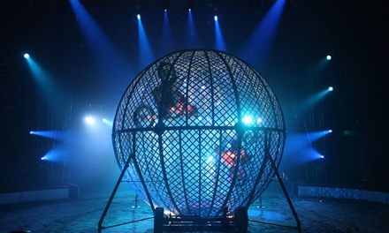 Circus Zyair: Two or Four Early Bird Day Tickets with Popcorn, Southend on Sea, 29 March 3 April