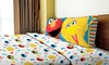 Sesame Street Big Chalk Fun Twin Sheet Set (3-Piece): Sesame Street Big Chalk Fun Twin Sheet Set (3-Piece)