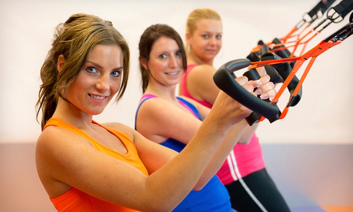 Brickhouse Cardio Club - Idylwood: 10 or 20 INSANITY or TRX Suspension Training Fitness Classes at Brickhouse Cardio Club in Falls Church (Up to 63% Off)