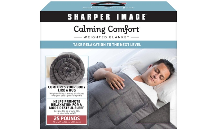 Up To 10 Off On Blanket By Sharper Image Groupon Goods