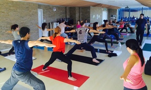 Yoga Ashram: Five or Ten Adult Yoga Classes at Yoga Ashram (Up to 69% Off)