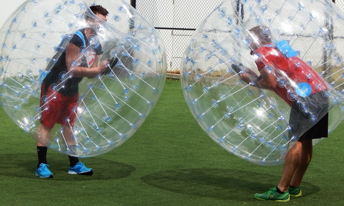 The Club at Oak Branch- Parisi Speed School - The Club at Oak Branch: One Game of Bubble Soccer for Up to Four or Eight People at The Club at Oak Branch (51% Off)