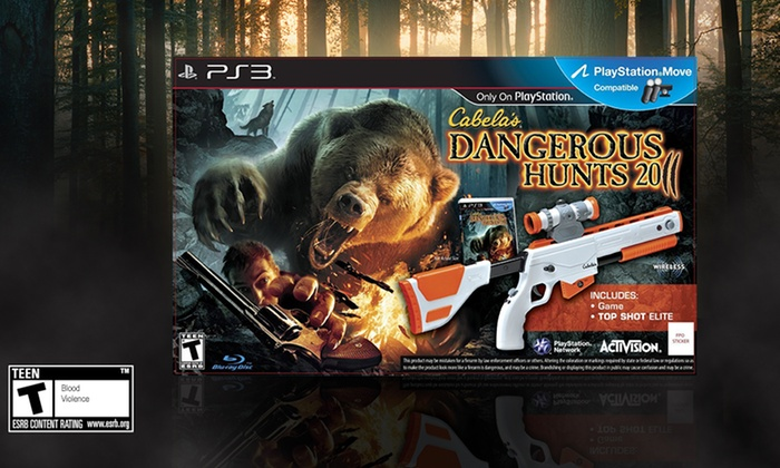 Cabela's Dangerous Hunts 2011 with Top Shot Elite for PS3: Cabela's Dangerous Hunts 2011 with Top Shot Elite for PS3. Free Returns.