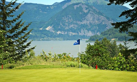 18-Hole Round of Golf for One or Two Including Cart Rental at Skamania Lodge Golf Course (Up to 73% Off)
