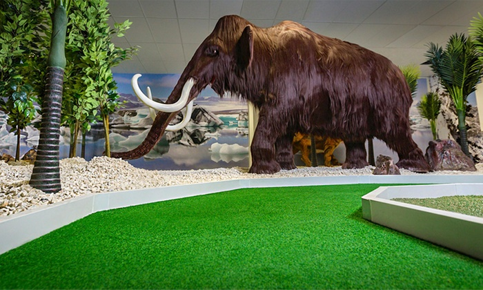 18 Holes of Ice Age Mini Golf: One ($9), Two ($18) or Six People ($54) at Lilliputt Mini Golf (Up to $90 Value)