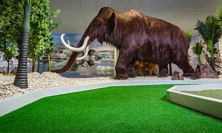 18 Holes of Ice Age Mini Golf for One ($9), or for Four with Beer or Cider ($52) at Lilliputt Mini Golf (Up to $84)