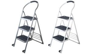 Stalwart Step Ladder Dolly Folding Cart