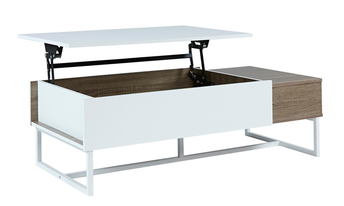 Table basse relevable forest groupon for Groupon table basse