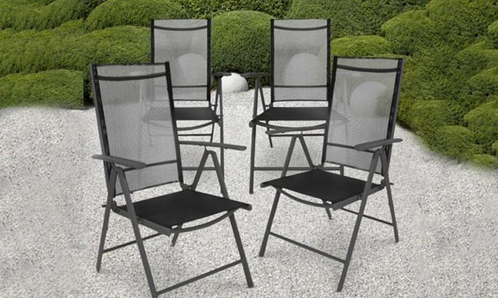 Sedie alluminio pieghevoli | Groupon