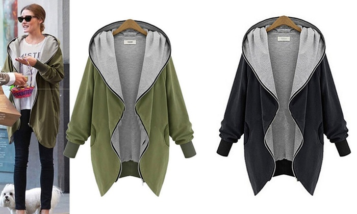 Ever Mercantile Limited: $29 for a Women's Oversize Hooded Jacket