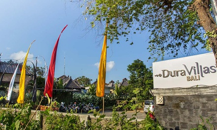 Bali, Canggu: Up to 7 Nights for Two with Breakfast, OneWay Airport Transfer and Welcome Drink at 4* Dura Villas Bali