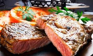 Gaststätte Vossen: Exklusives 4-Gänge-Brauhaus-Steak-Menü, opt. mit Getränken, für 2 oder 4 in der Gaststätte Vossen (bis zu 34% sparen*)