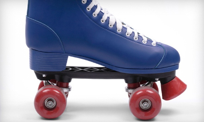 Holiday Skatium - Haltom City: $17 for Roller Skating for Four with Skate Rentals, a 12-Inch Pizza, and Pitcher of Soda at Holiday Skatium ($44 Value)