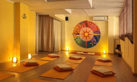 Bono de 8 clases de yoga o 1 mes de clases ilimitadas desde 34,95 € en Energía de llum