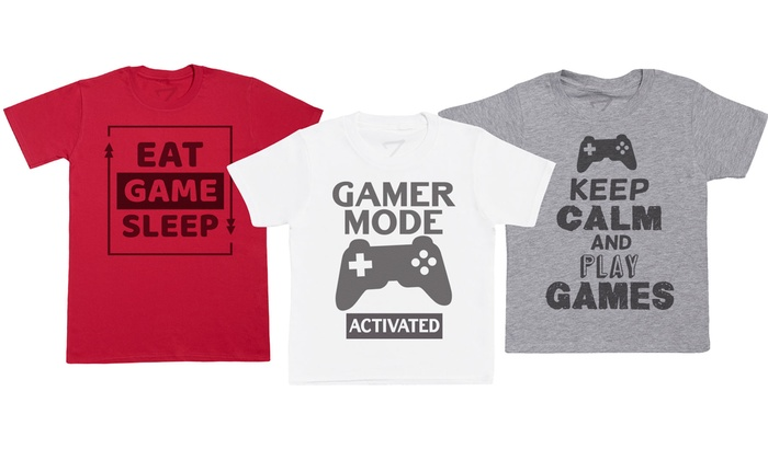 Kid's Gaming T-Shirt Collection