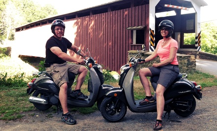 Covered-Bridge and Amish-Farm Scooter Tour for Two or Four from Strasburg Scooters (Up to 60% Off)