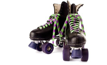Roller-Skating with Skate Rental, Pizza, and Drinks for Two or Four at Roller Kingdom (Up to 50% Off)