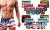 Spicy 6er-Pack Herren-Boxershorts mit elastischem Bund