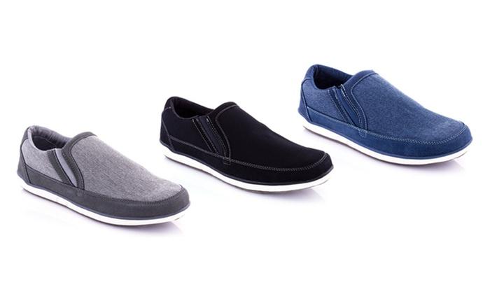 Franco Vanucci Men's Slip-On Sneakers
