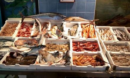 1 o 2 kg di pesce fresco