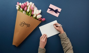 Up to 46% Off Flower Bouquets with Shipping Included at The Bouqs Company, plus 6.0% Cash Back from Ebates.