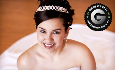 Bridal Hair and Make-up Services for 1 Person (a $500 value) - Setsuko at Jean Claude in Scarsdale