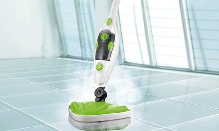 CLEANmaxx 5-in-1 Universal-Dampfreiniger für Böden, Auto, Kleidung, Bad, Küche und Fenster (Frankfurt)