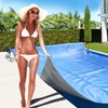 Solar Pool Cover and Roller
