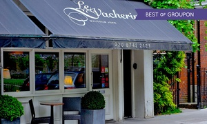 Le Vacherin: Two-AA-Rosette and Michelin-Listed Dining Experience with Wine and Coffee for One or Two at Le Vacherin (Up to 51% Off)